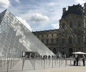 louvre, paris, and palais de louvre image