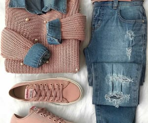 blue jeans, clothes, and jeans image