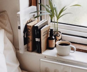 aesthetic, coffee, and books image