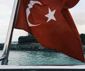 flag, turk, and bayrak image