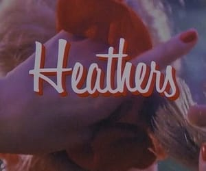 aesthetic, Heathers, and red image
