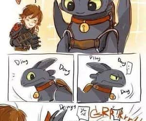 friend, chimuelo, and como entrenar a tu dragon image