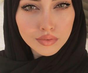 arab, beauty, and make up image