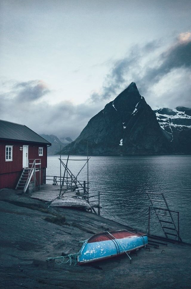 iceland, lake, and winter image