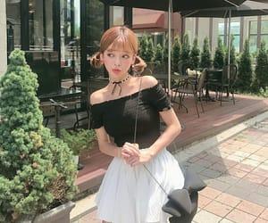 asians, blush, and cafe image