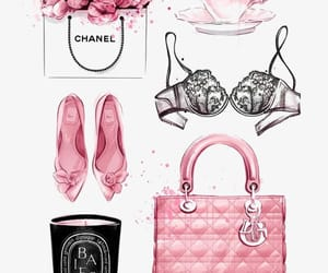 chanel, fashion, and art image