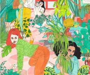 feminism, girls, and illustration image