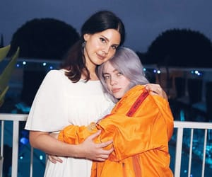 lana del rey and billie eilish image