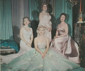 actress, sisters, and vintage image