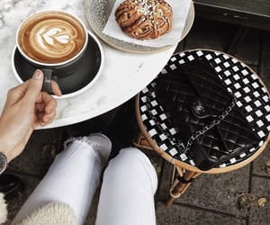 cafe, coffee, and fashion image