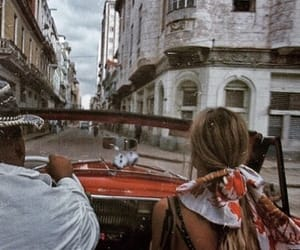 travel, car, and cuba image