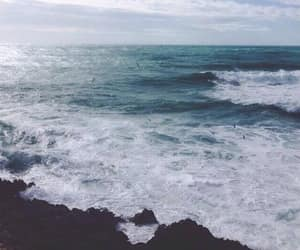 nature, sea, and blue image