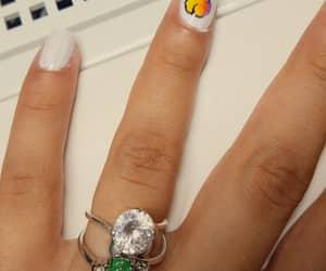 art, icecream, and stone ring image