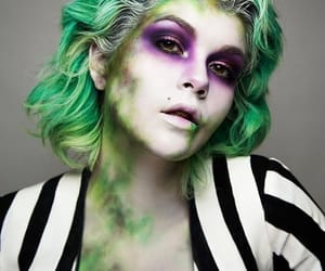 cosplay, beetlejuice, and Halloween image