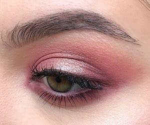 beauty, makeup, and eyelashes image