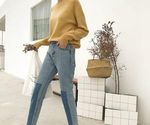 asian fashion, casual, and aesthetic fashion image