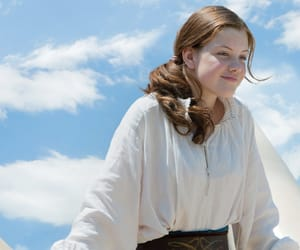 lucy pevensie, narnia, and georgie henley image