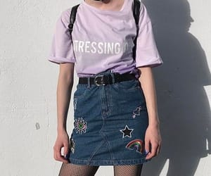 90s, clothes, and skirt image