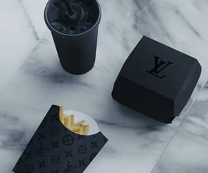 black, McDonald's, and louisvuitton image