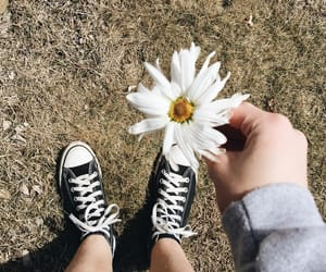 aesthetic, black, and converse image