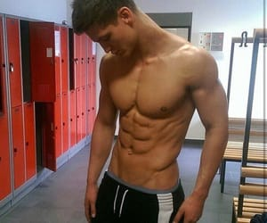 guy, abs, and boy image