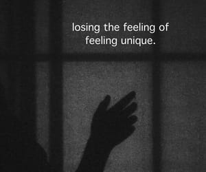 feeling, lost, and unique image