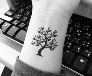 life, tree, and tattoo image