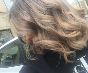 blond, extension, and girl image