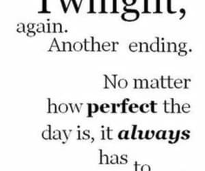 books, quotes, and twilight image
