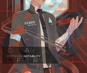 art, Connor, and dbh image