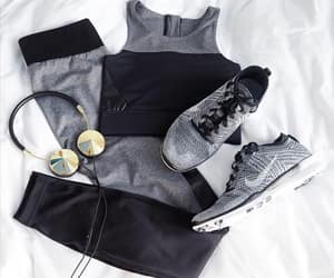 fashion, nike, and fitness image