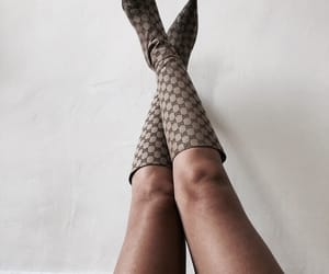 girl, boots, and fashion image
