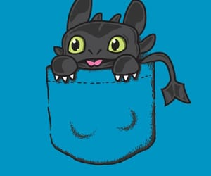 wallpaper, pocket, and toothless image