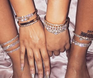 nails, accessories, and diamond image