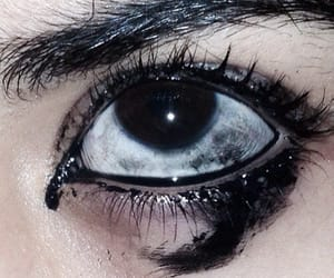black, grunge, and eyes image