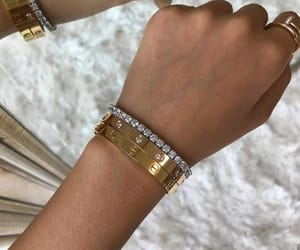 cartier, gold, and jewelry image