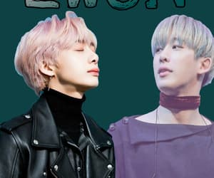 wallpaper, wonho, and 2won image