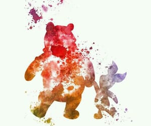 art, disney, and winnie the pooh image