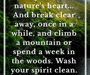 nature, quote, and love nature image