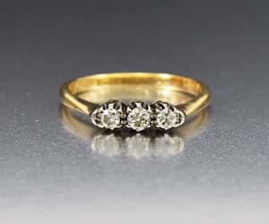 art, deco, and ring image