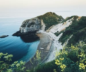 cliff, coastline, and nature image