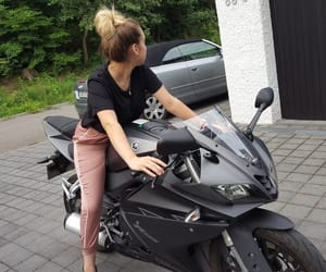 bike, grey, and moto image
