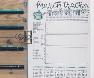 bullet journal and tracker image