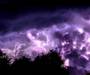 purple, sky, and storm image
