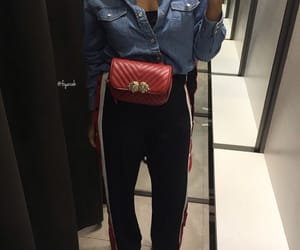 fashion style, outfit clothes, and sac bag bags image