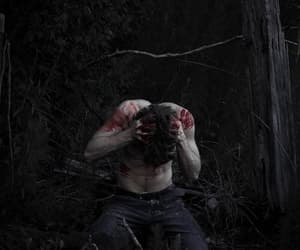 blood, dark, and boy image
