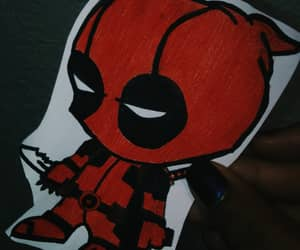 aesthetic, deadpool, and draw image