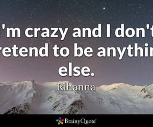 rihanna, don't pretend, and i am crazy image