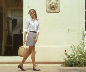 jane birkin, vintage, and la piscine image