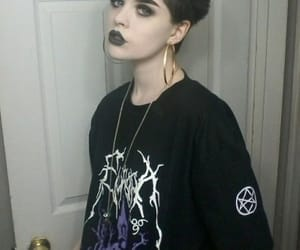 girl and goth image